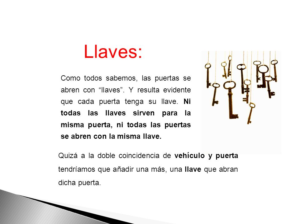 Llaves: