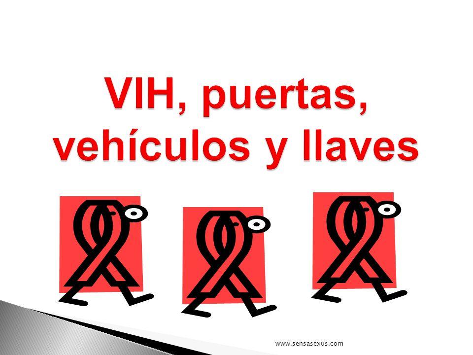VIH, puertas, vehículos y llaves