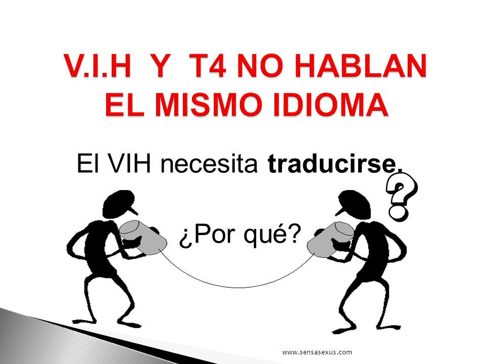 V.I.H Y T4 NO HABLAN EL MISMO IDIOMA