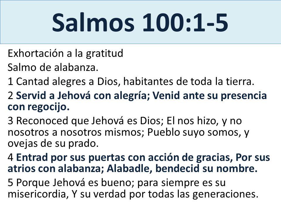 Salmos 100:1-5