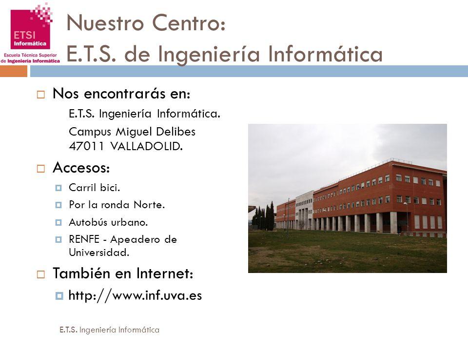 Nuestro Centro: E.T.S. de Ingeniería Informática