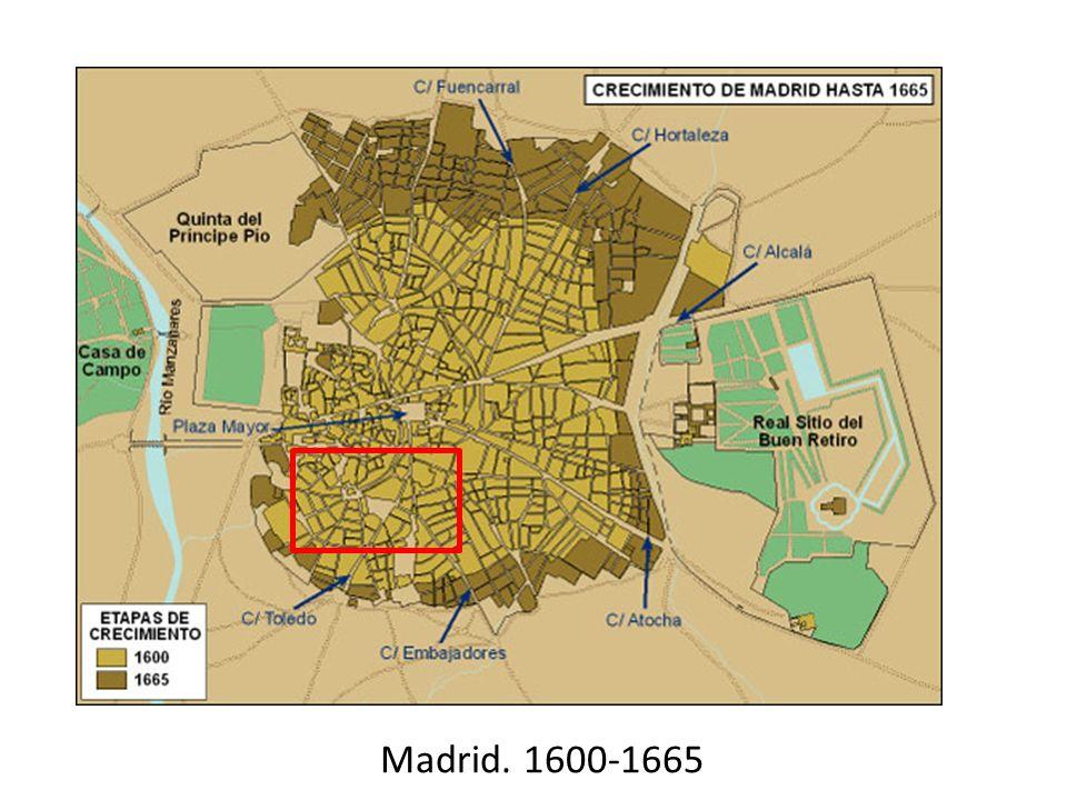 Madrid. 1600-1665