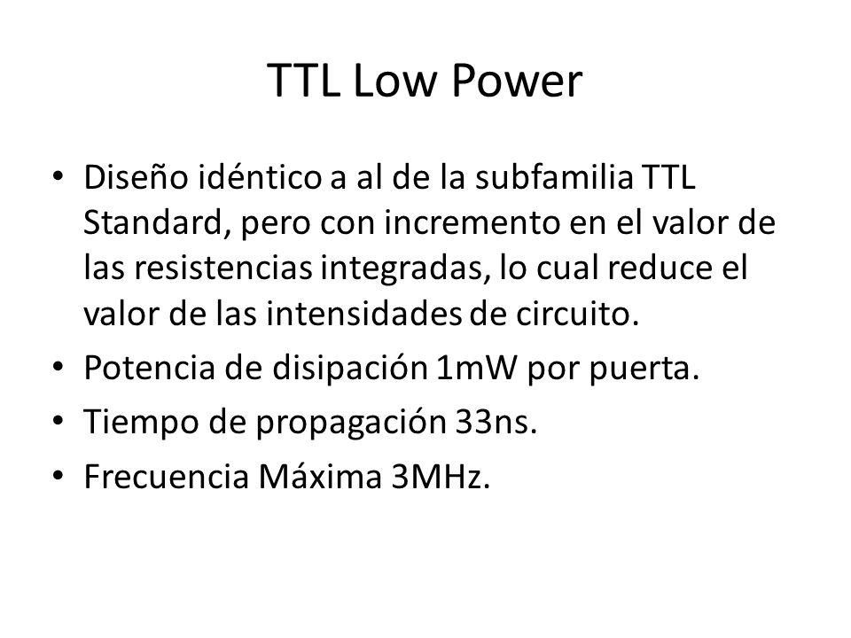 TTL Low Power