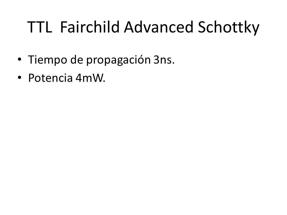 TTL Fairchild Advanced Schottky
