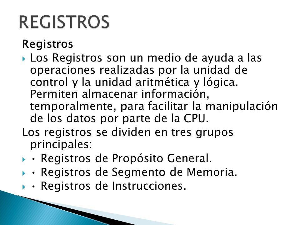 REGISTROS Registros.