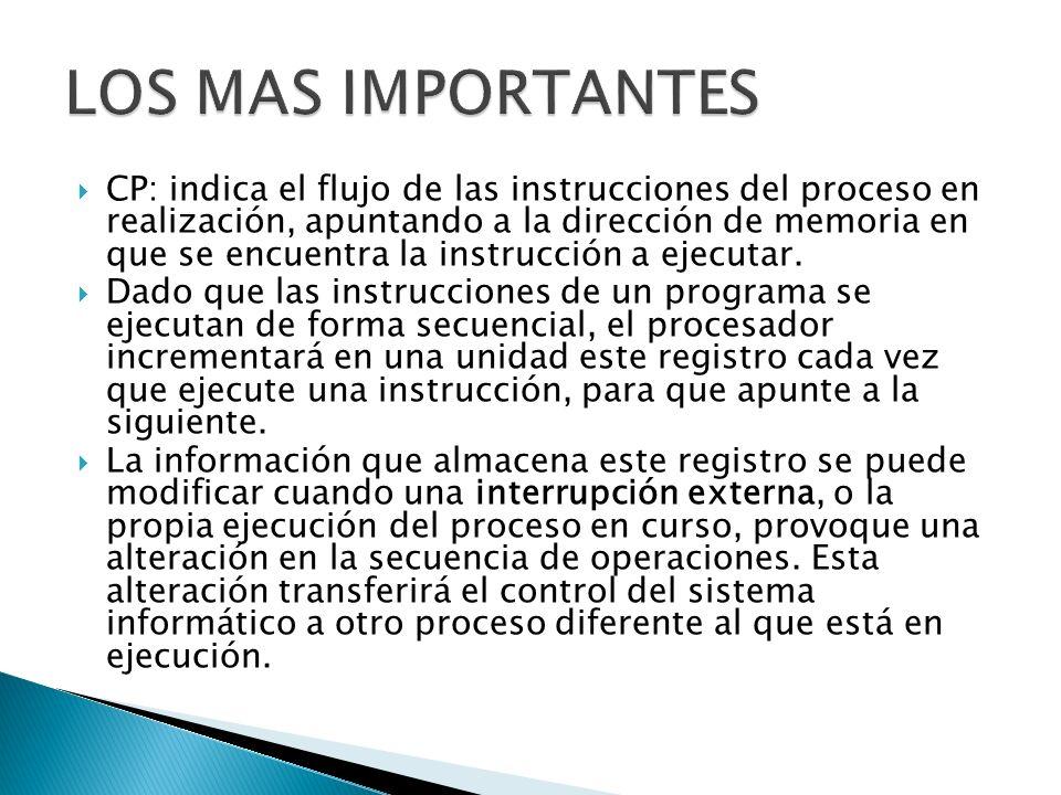 LOS MAS IMPORTANTES
