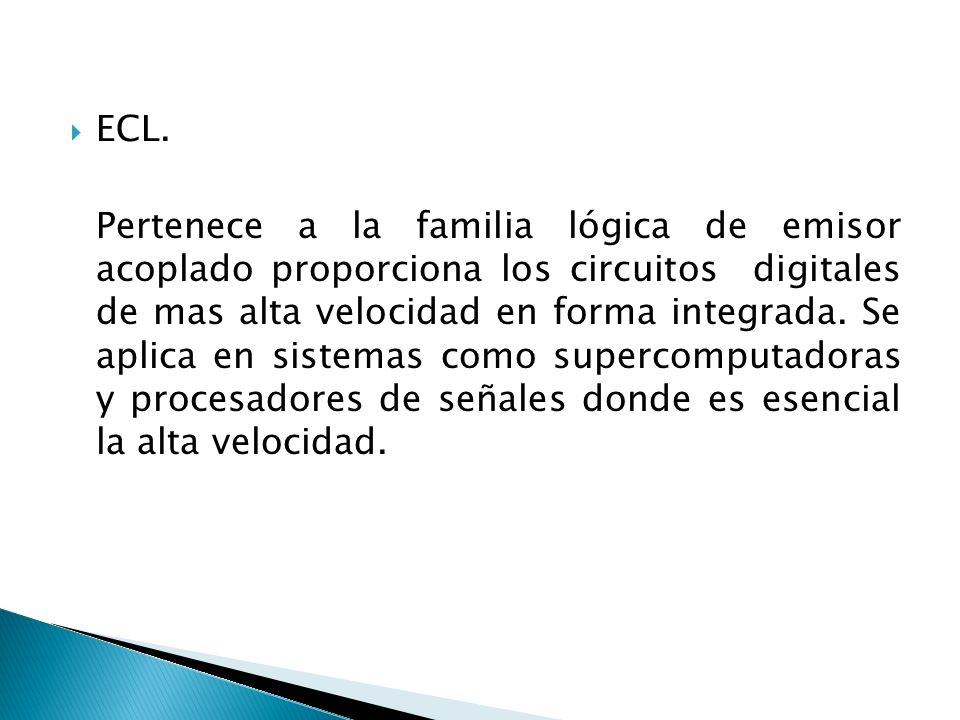 ECL.