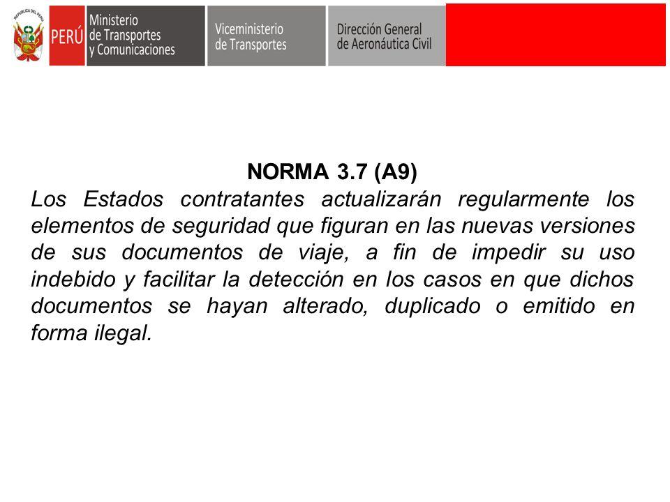 NORMA 3.7 (A9)