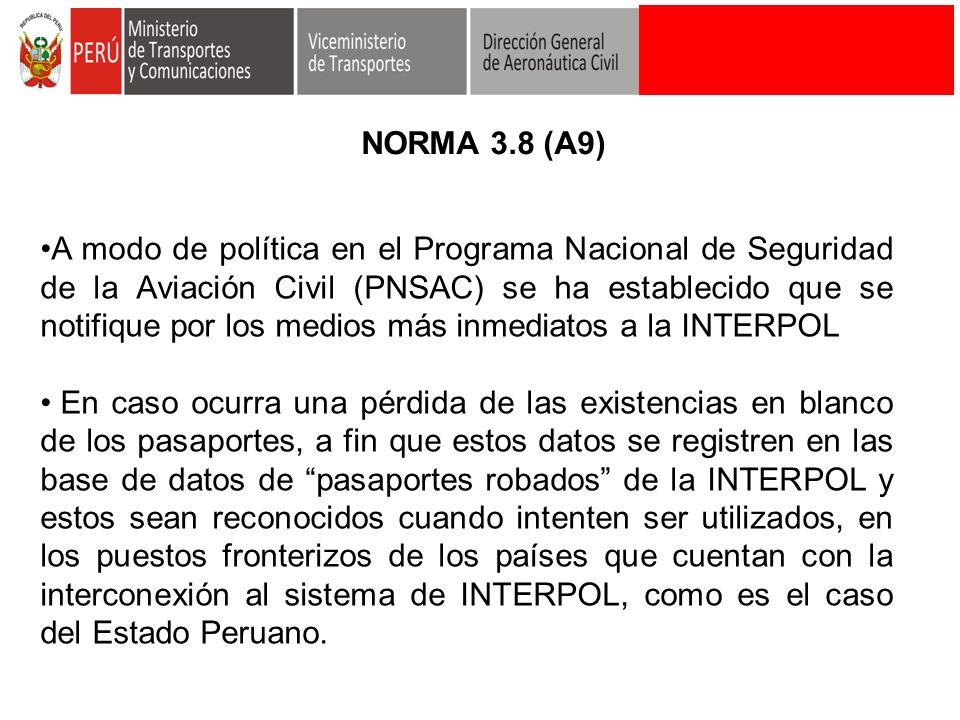 NORMA 3.8 (A9)