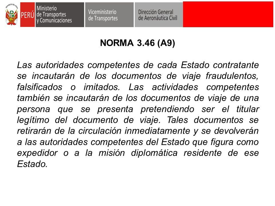 NORMA 3.46 (A9)