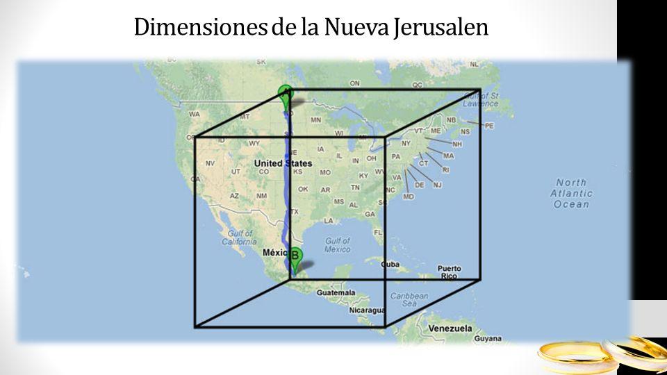 Dimensiones de la Nueva Jerusalen