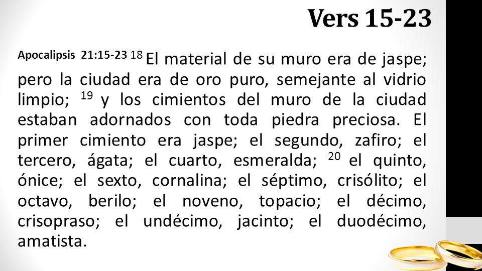 Vers 15-23