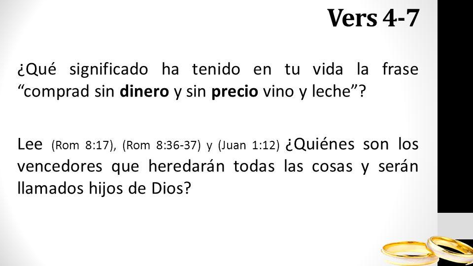 Vers 4-7