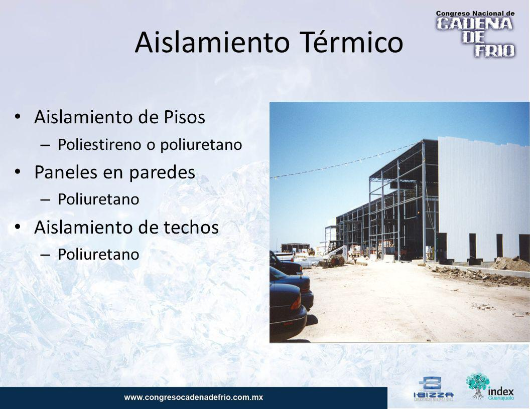 Soluciones de camaras frigorificas edificios refrigerados - Aislamiento de paredes ...