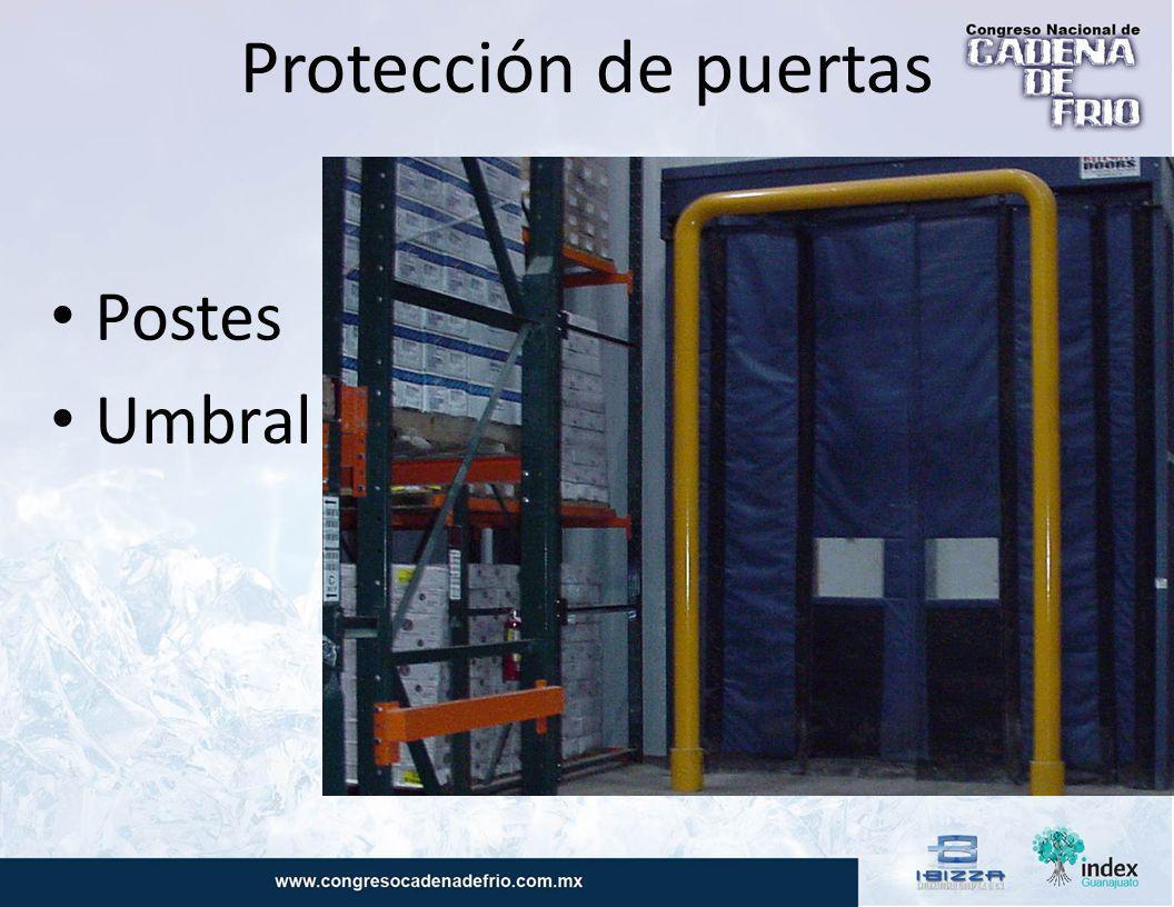 Protección de puertas Postes Umbral