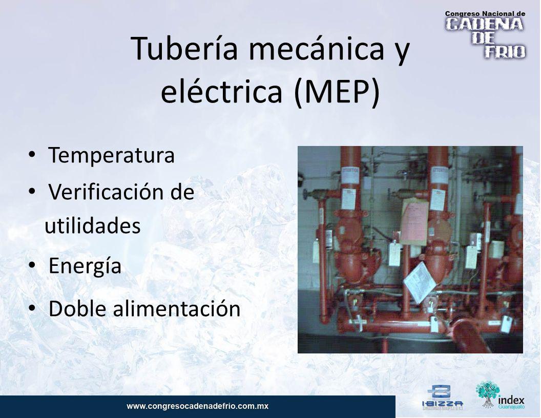 Tubería mecánica y eléctrica (MEP)