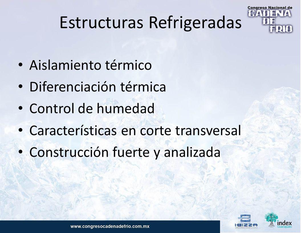 Estructuras Refrigeradas