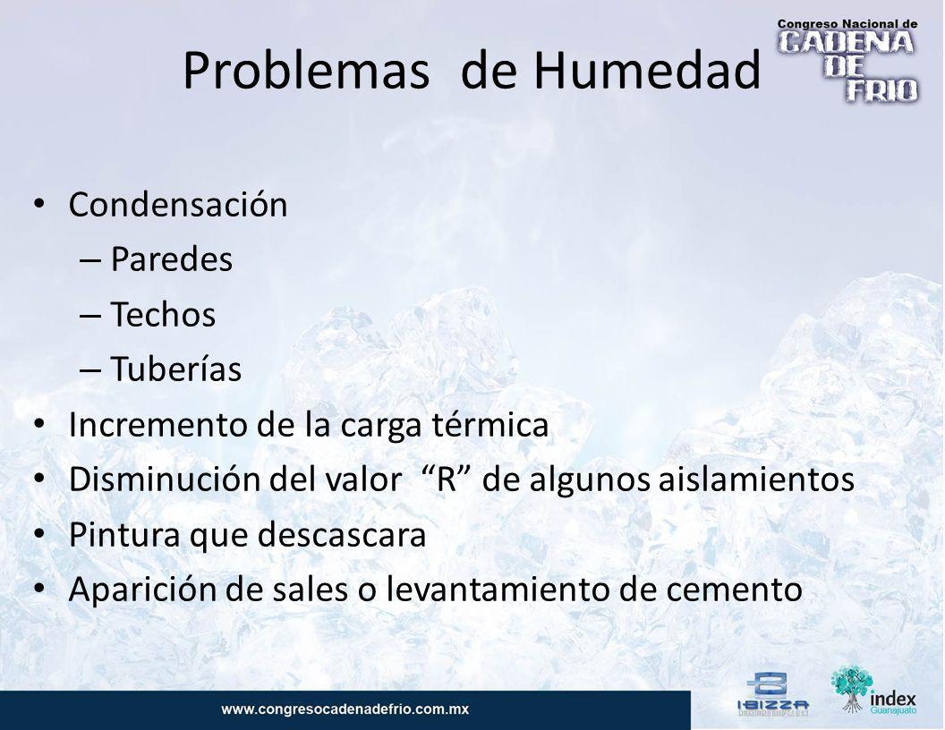 Problemas de Humedad Condensación Paredes Techos Tuberías