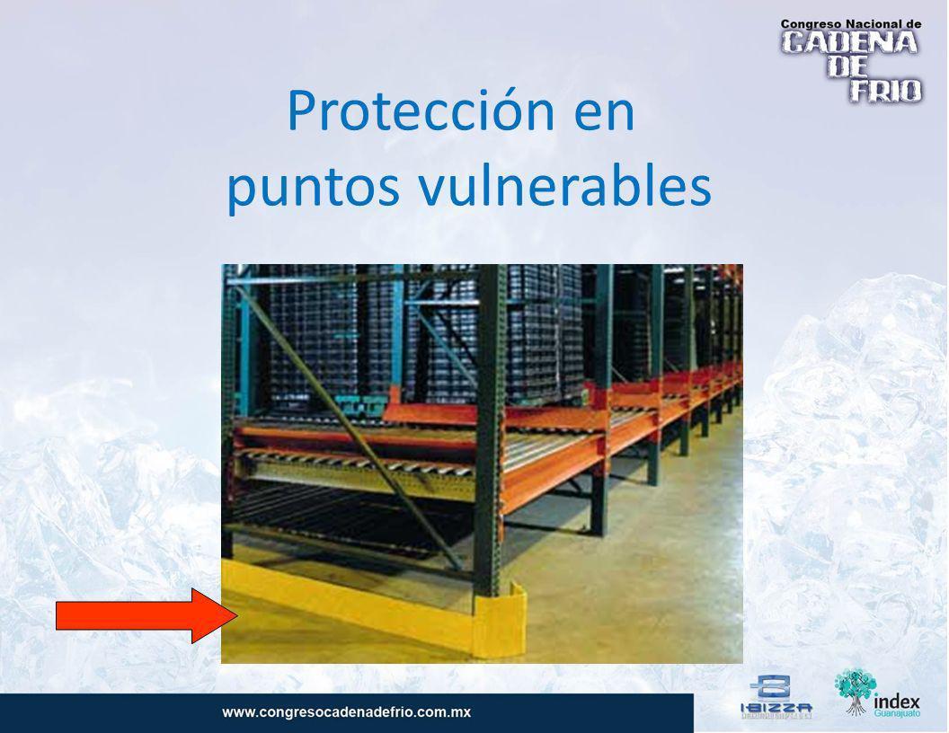 Protección en puntos vulnerables
