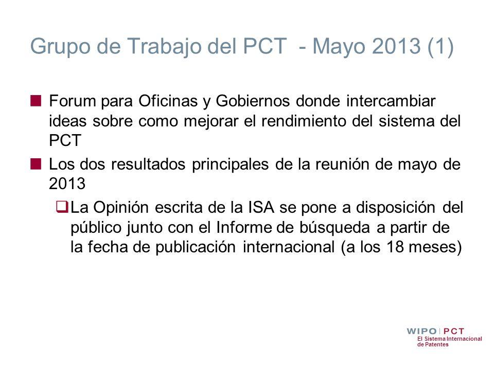 Grupo de Trabajo del PCT - Mayo 2013 (1)
