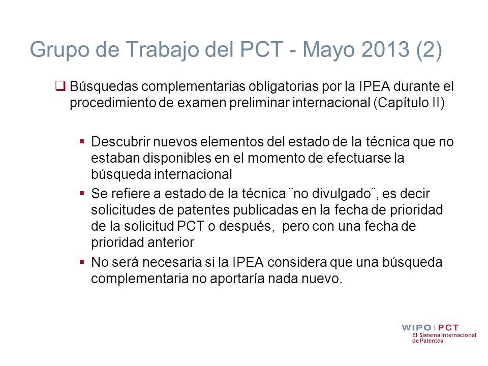 Grupo de Trabajo del PCT - Mayo 2013 (2)