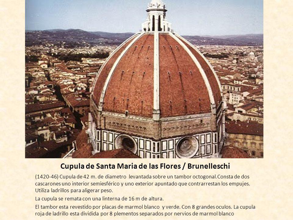 Cupula de Santa Maria de las Flores / Brunelleschi