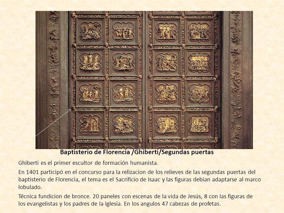 Baptisterio de Florencia /Ghiberti/Segundas puertas
