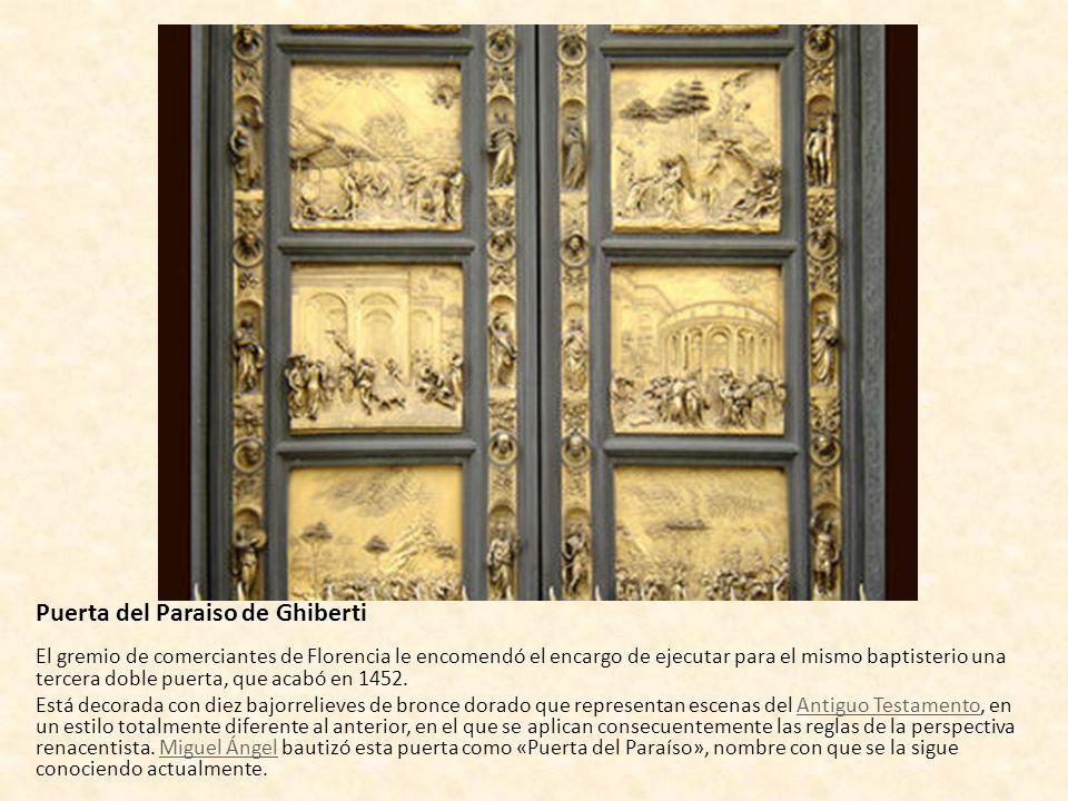 Puerta del Paraiso de Ghiberti