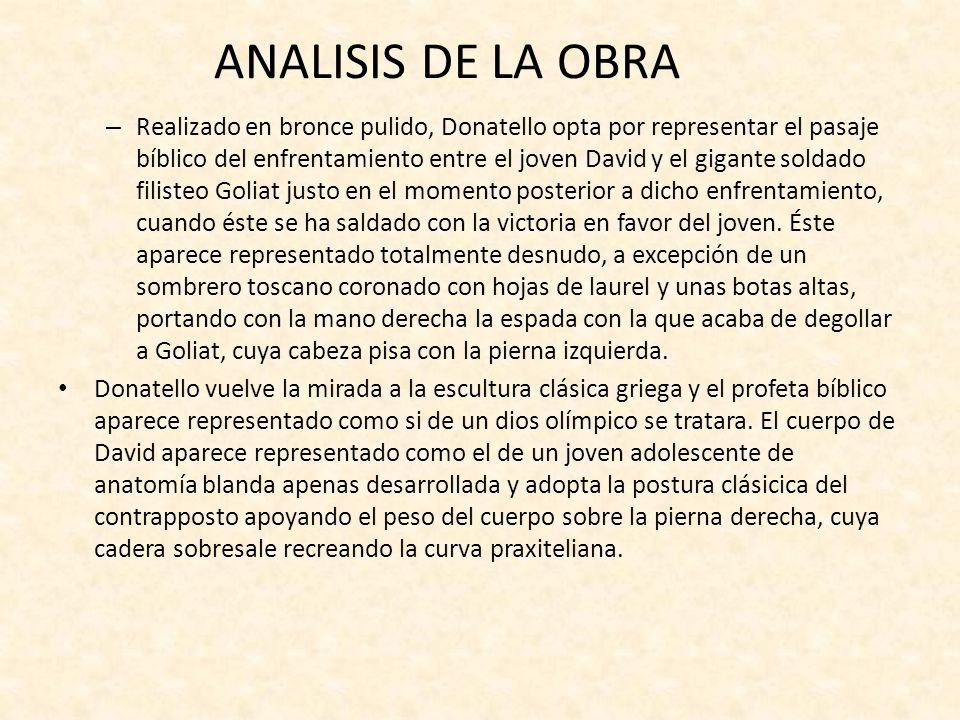 ANALISIS DE LA OBRA