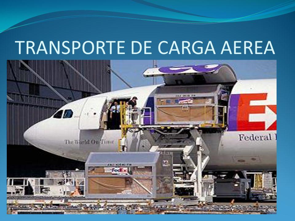 TRANSPORTE DE CARGA AEREA