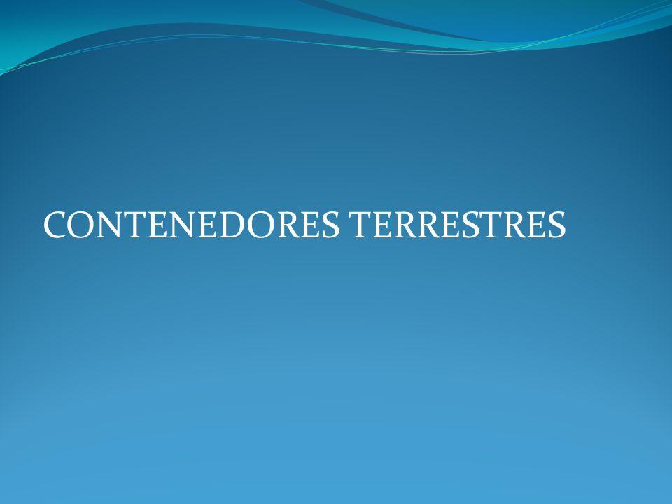 CONTENEDORES TERRESTRES