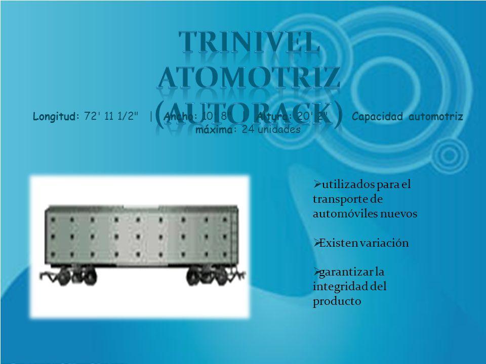 TRINIVEL ATOMOTRIZ (AUTORACK)