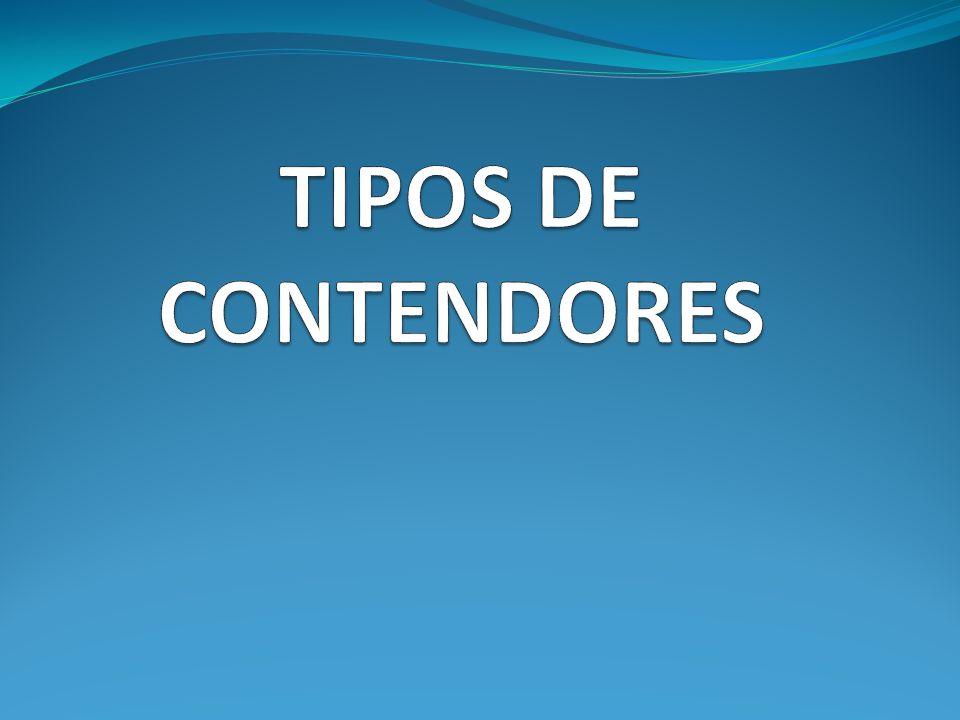 TIPOS DE CONTENDORES