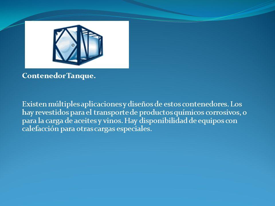 Contenedor Tanque.