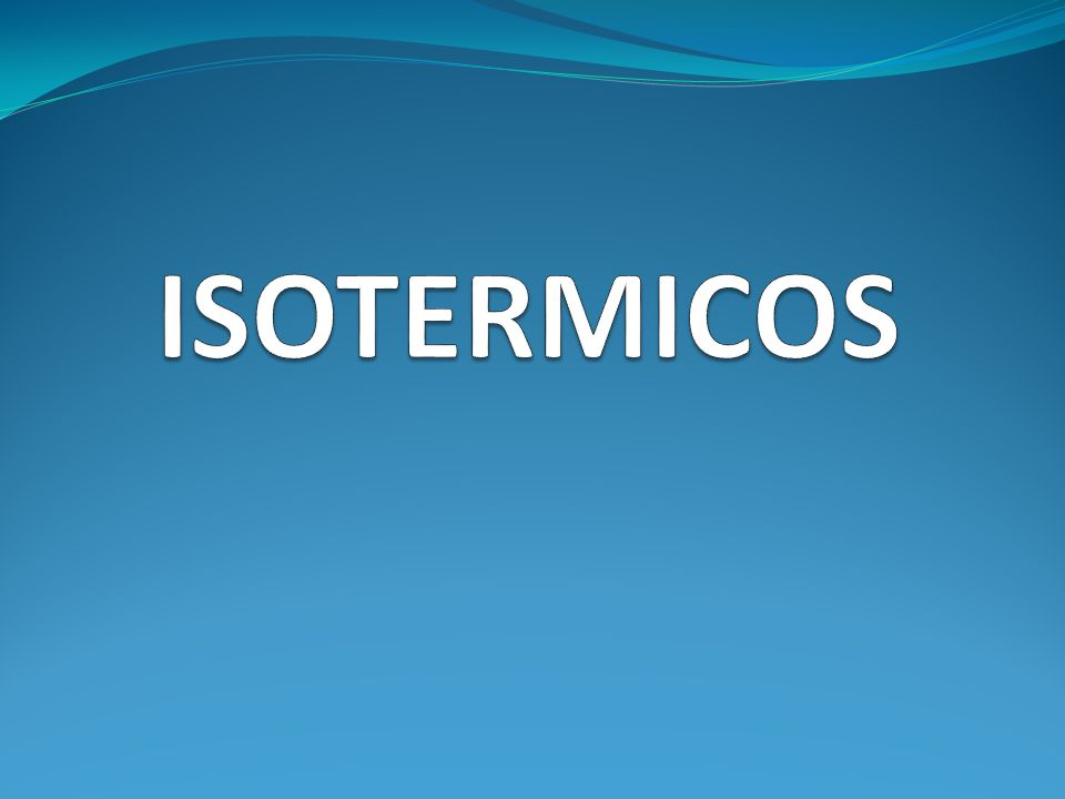 ISOTERMICOS