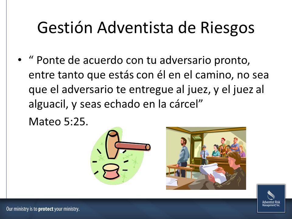 Gestión Adventista de Riesgos