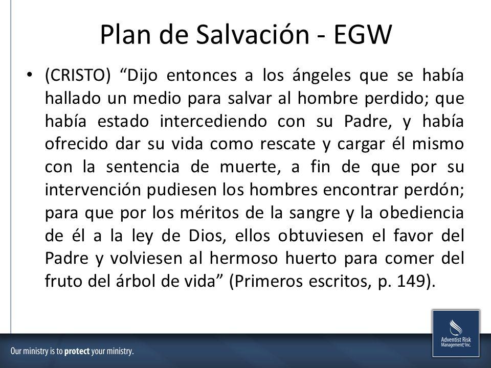 Plan de Salvación - EGW