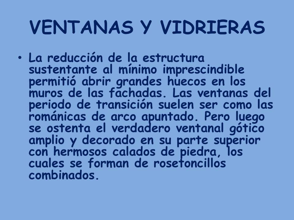 VENTANAS Y VIDRIERAS