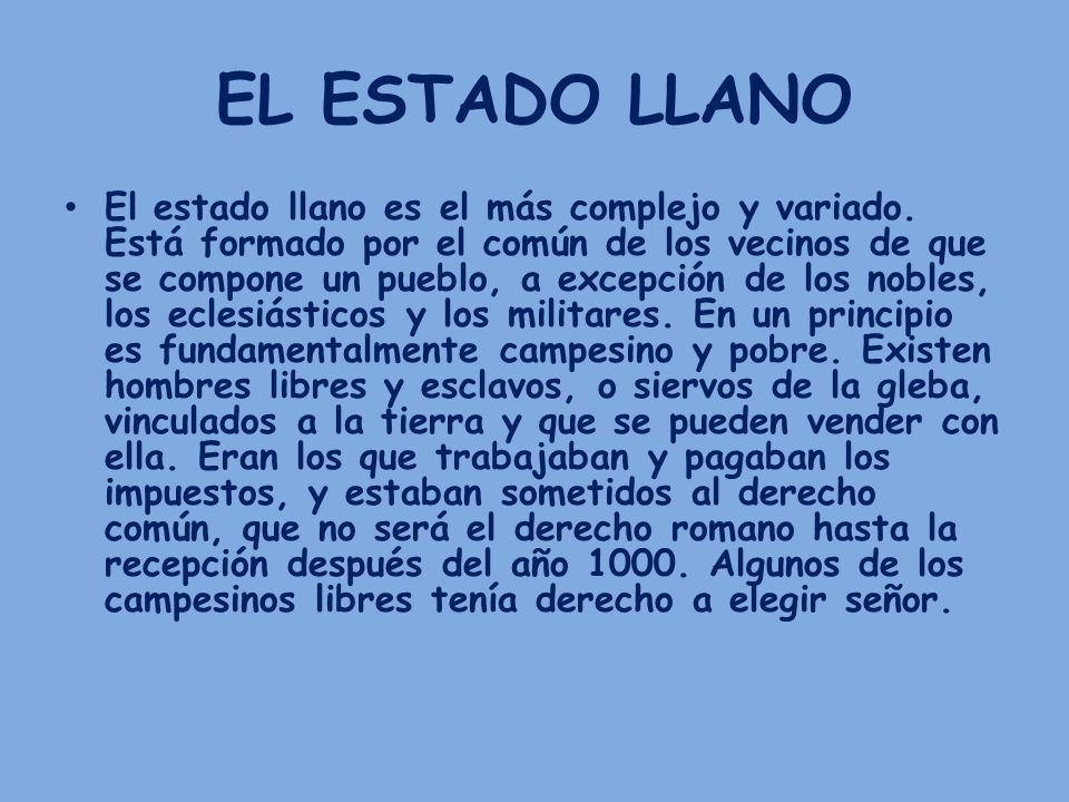 EL ESTADO LLANO