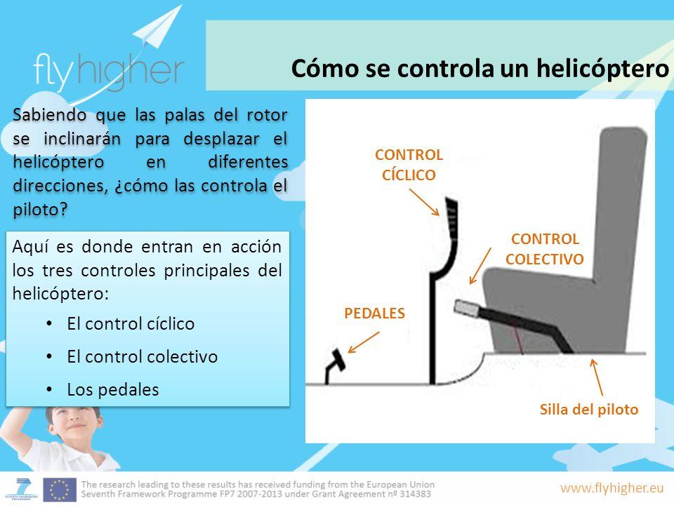 Cómo se controla un helicóptero