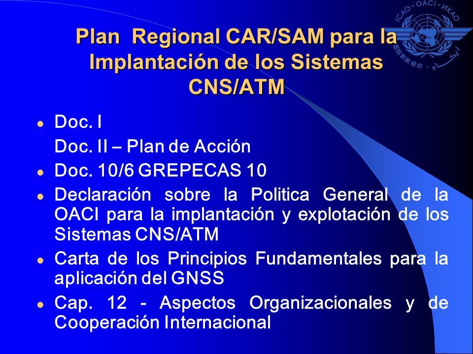 Plan Regional CAR/SAM para la Implantación de los Sistemas CNS/ATM