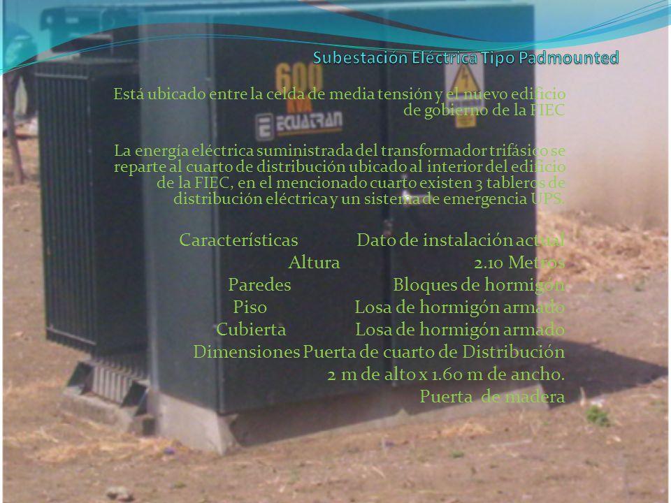 Subestación Eléctrica Tipo Padmounted