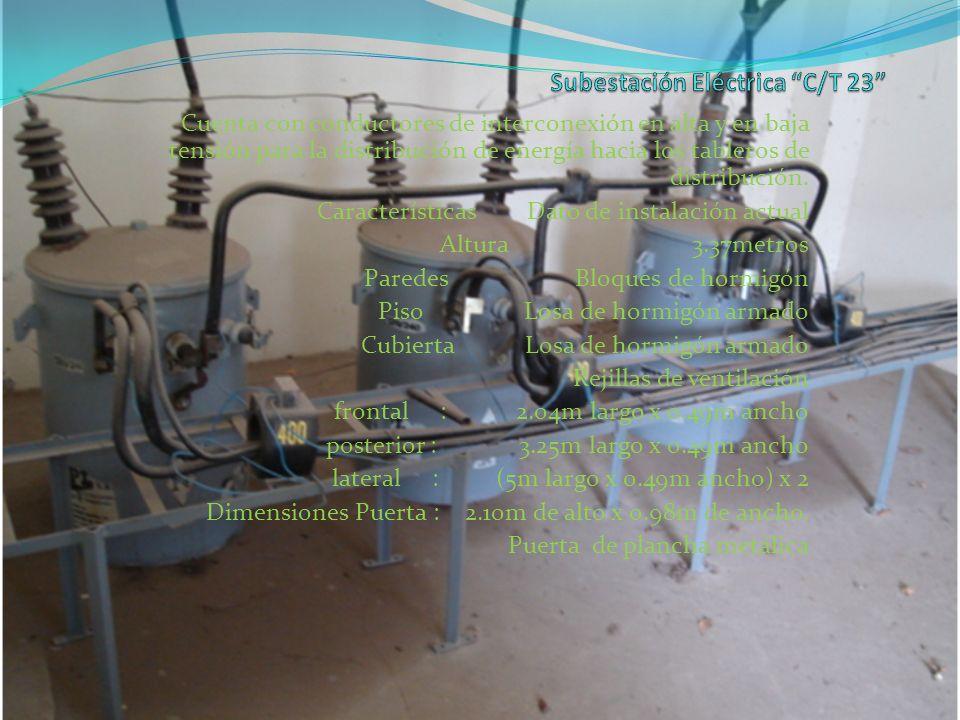 Subestación Eléctrica C/T 23