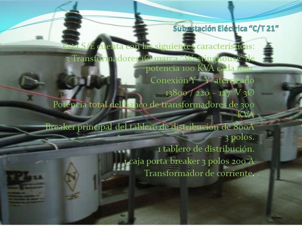 Subestación Eléctrica C/T 21