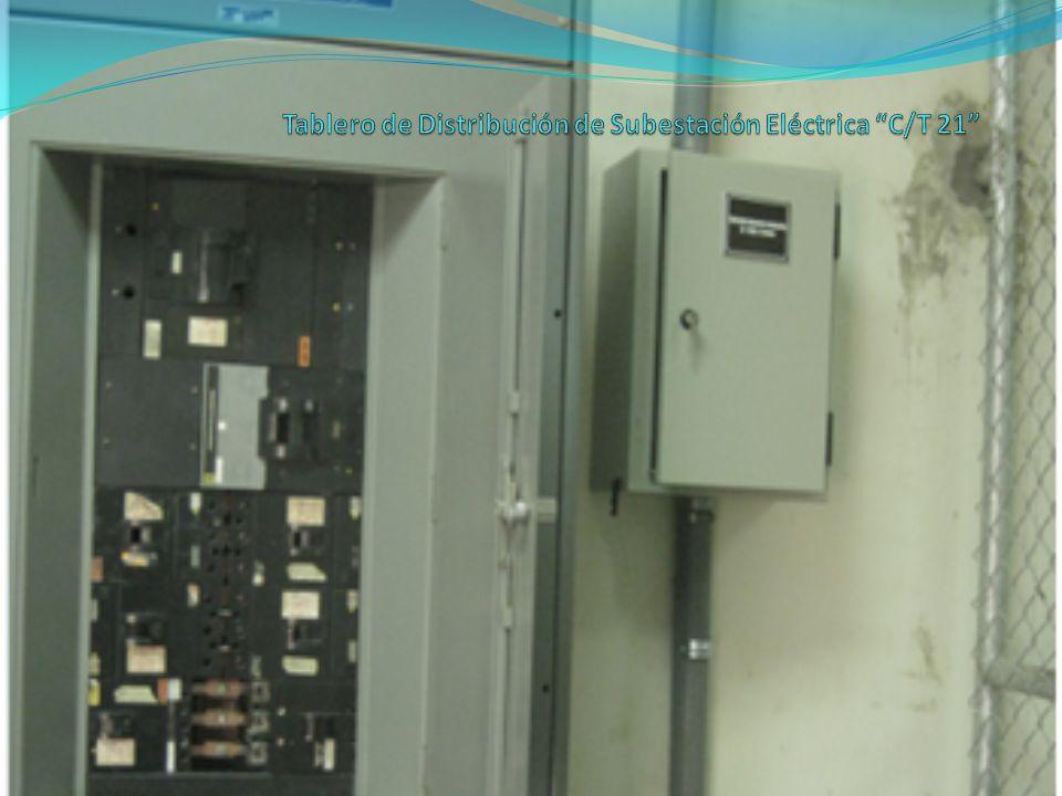 Tablero de Distribución de Subestación Eléctrica C/T 21