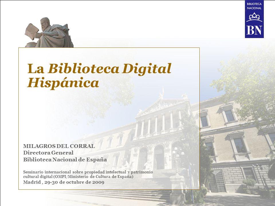 La Biblioteca Digital Hispánica