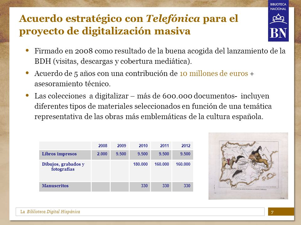 Acuerdo estratégico con Telefónica para el proyecto de digitalización masiva