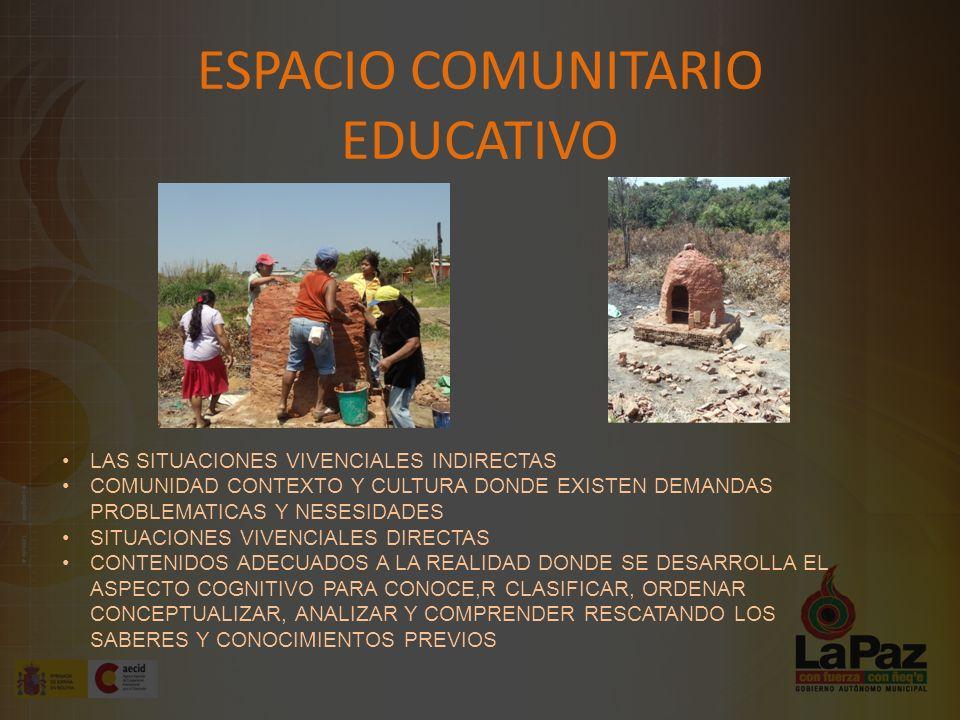 ESPACIO COMUNITARIO EDUCATIVO