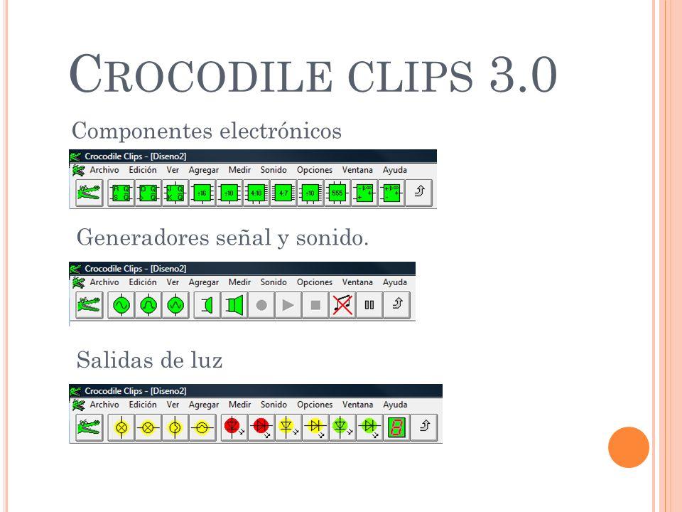 Crocodile clips 3.0 Componentes electrónicos