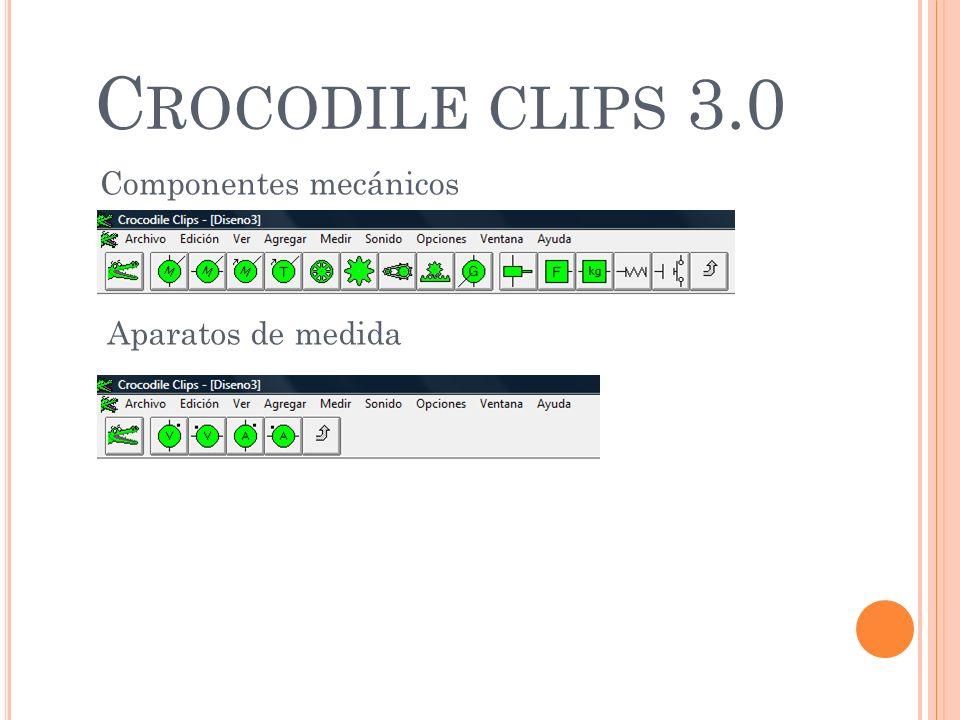 Crocodile clips 3.0 Componentes mecánicos Aparatos de medida